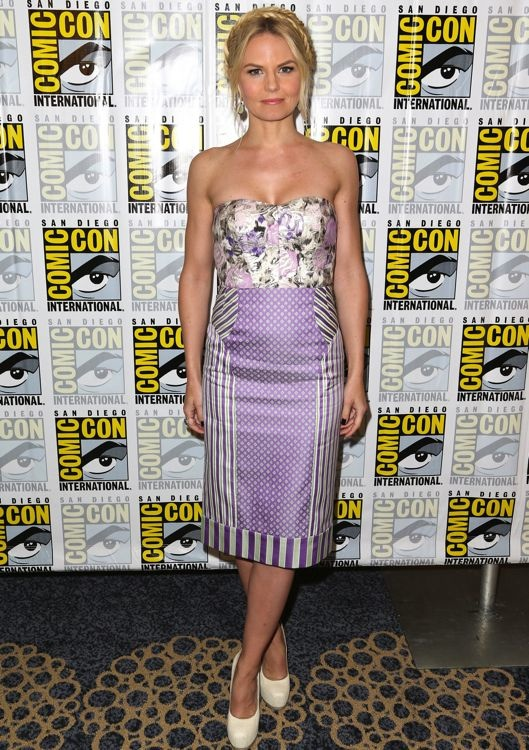 Jennifer Morrison at the Once Upon a Time Press Line