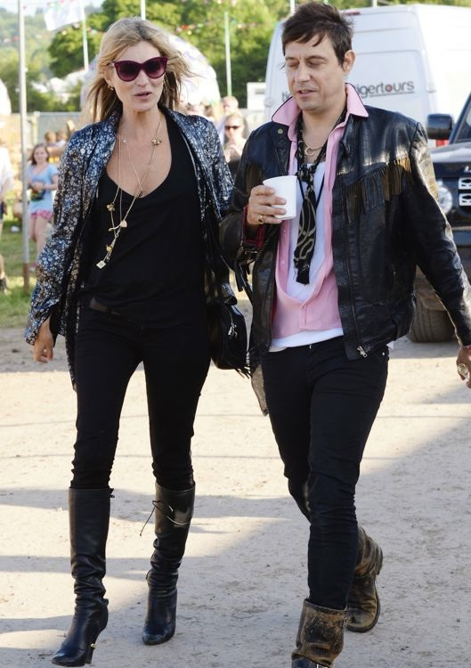 Kate Moss and Jamie Hince Day 2