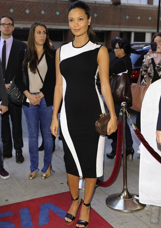 Thandie Newton at the Premiere of Half of a Yellow Sun
