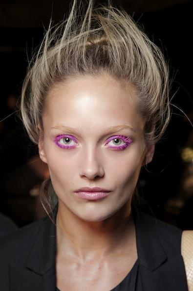 Donna Karan's Shocking Pink Lids