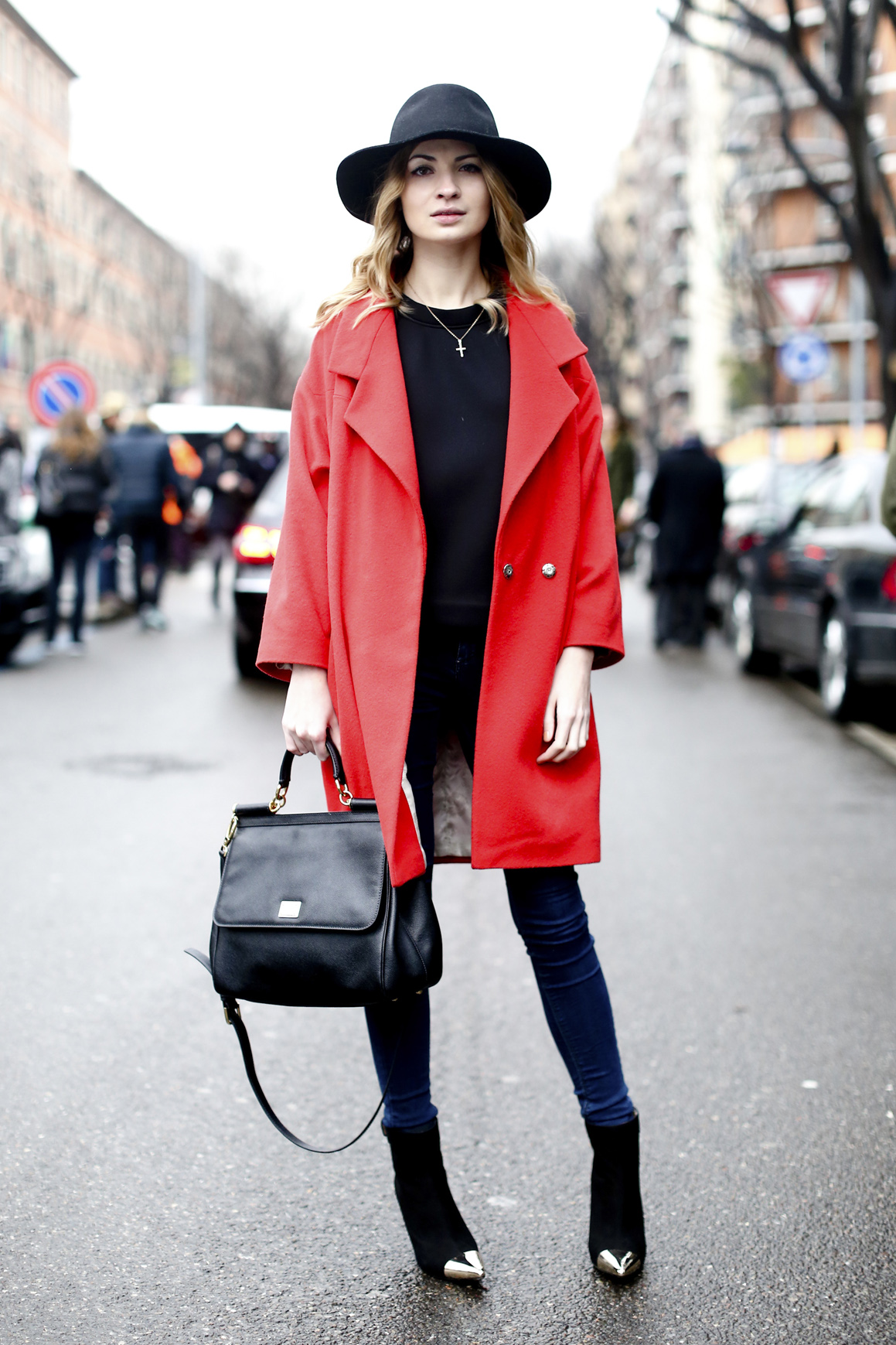 Street Style Coat Trends Fall 2013 Thefashionspot