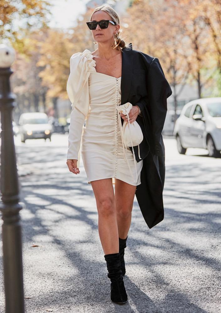 Puff-Sleeve Dresses