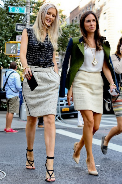 Walking on Street Style Sunshine