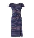 Olivia Bow Stripe Dress