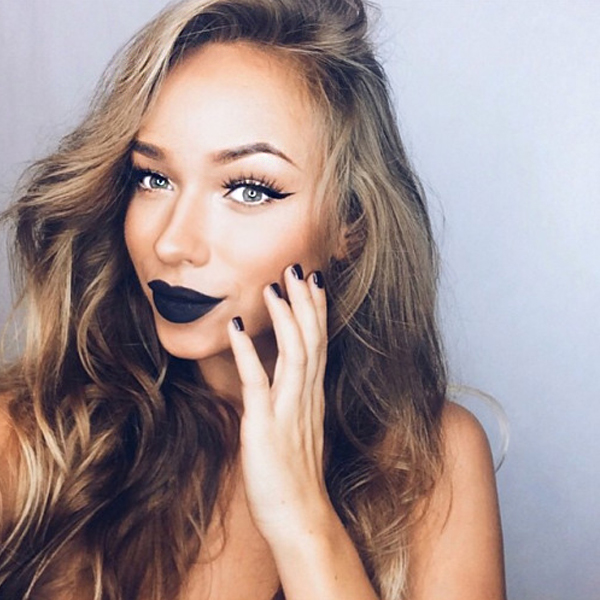 How to Wear Black Lipstick Without Looking Goth ...