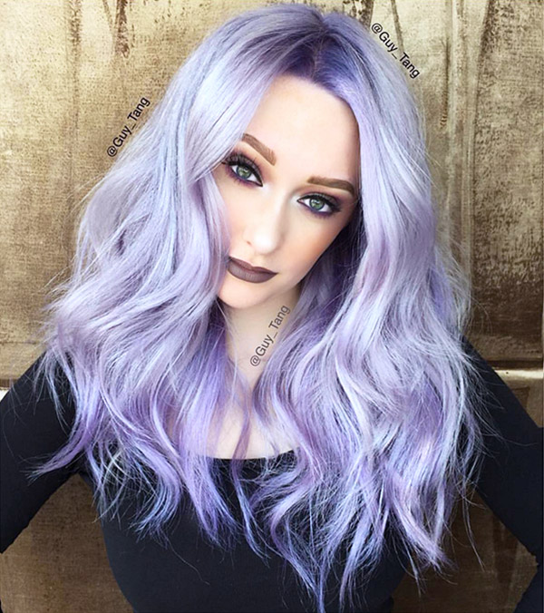 High Quality 16 Hair Looks That Will Convince You To Go Lavender Nice Look