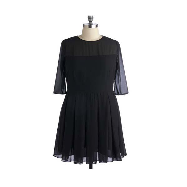 The Fancy Fall Dress