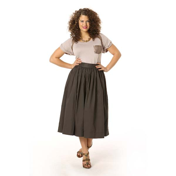 The Goes-With-Everything Midi Skirt