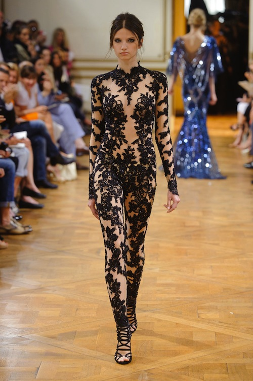 Zuhair Murad's Tattoo Style Embroidery