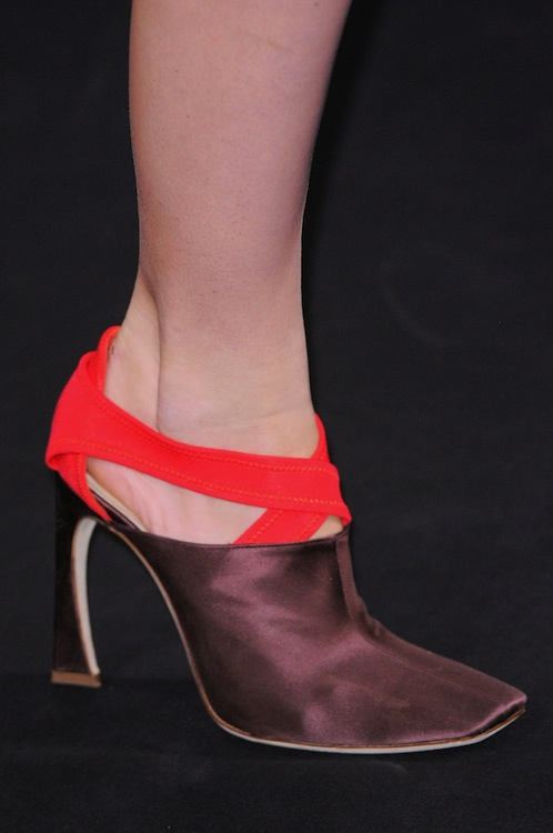 Christian Dior's Satin Mules