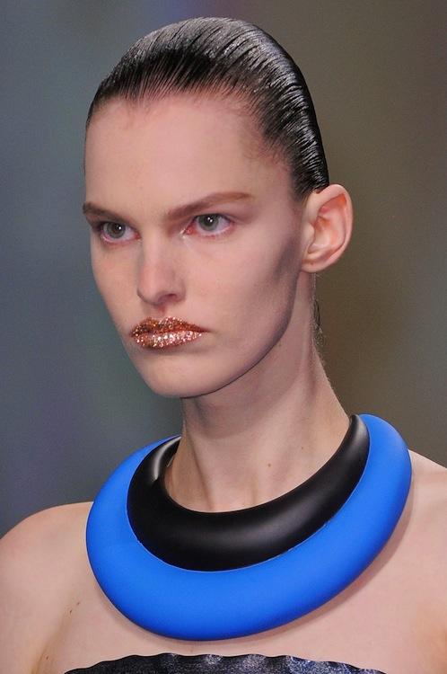 Christian Dior's High Impact Masai Necklace