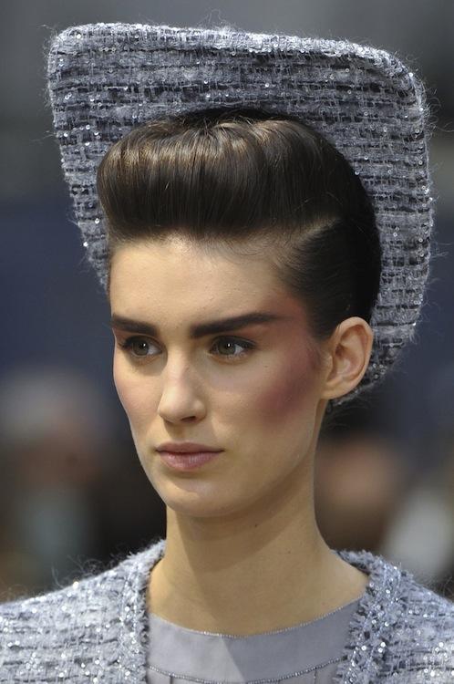 Chanel's Grace Jones Tweed Chapeau