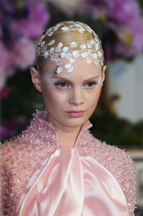 Alexis Mabille's Ethereal Hair Appliques