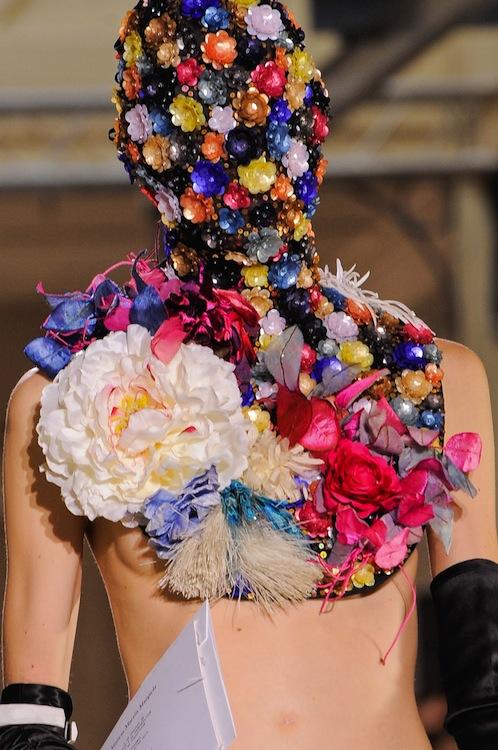 Maison Martin Margiela's Floral Masks