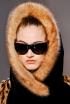 Jean Paul Gaultier's Fur Trimmed Head Wrap