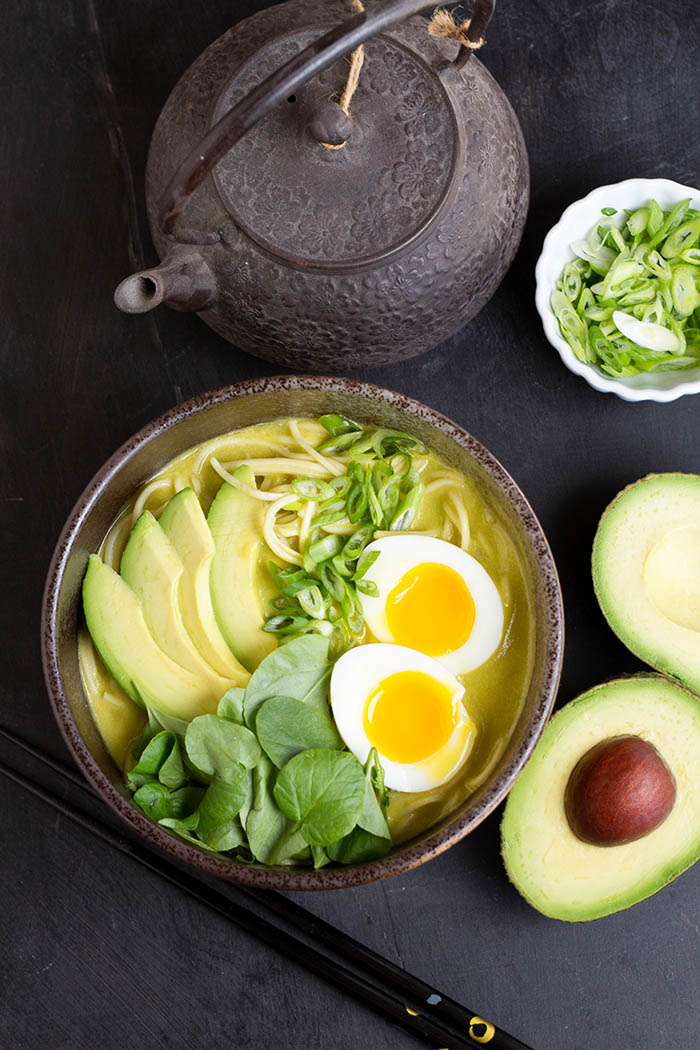 California Avocado Ramen