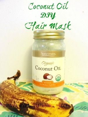 Coconut Oil and Coconut Milk Hair Mask