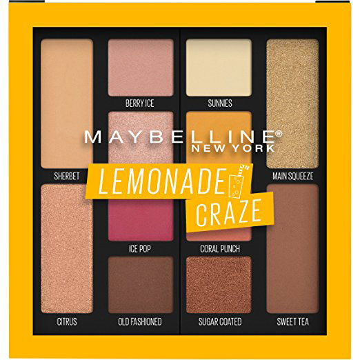 Maybelline  22 Gorgeous Eyeshadow Palettes to Add to Your Collection This Spring maybelline lemonade craze eyeshadow palette