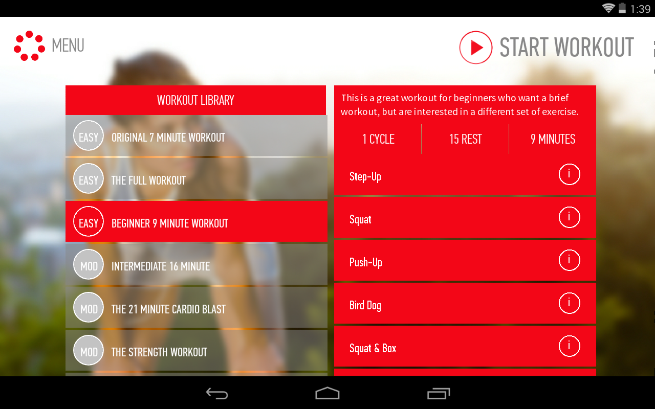 The Johnson Official 7 Minute Workout App