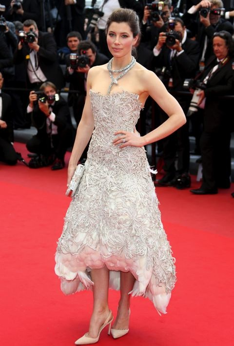 Jessica Biel at the Premiere of Inside Llewyn Davis