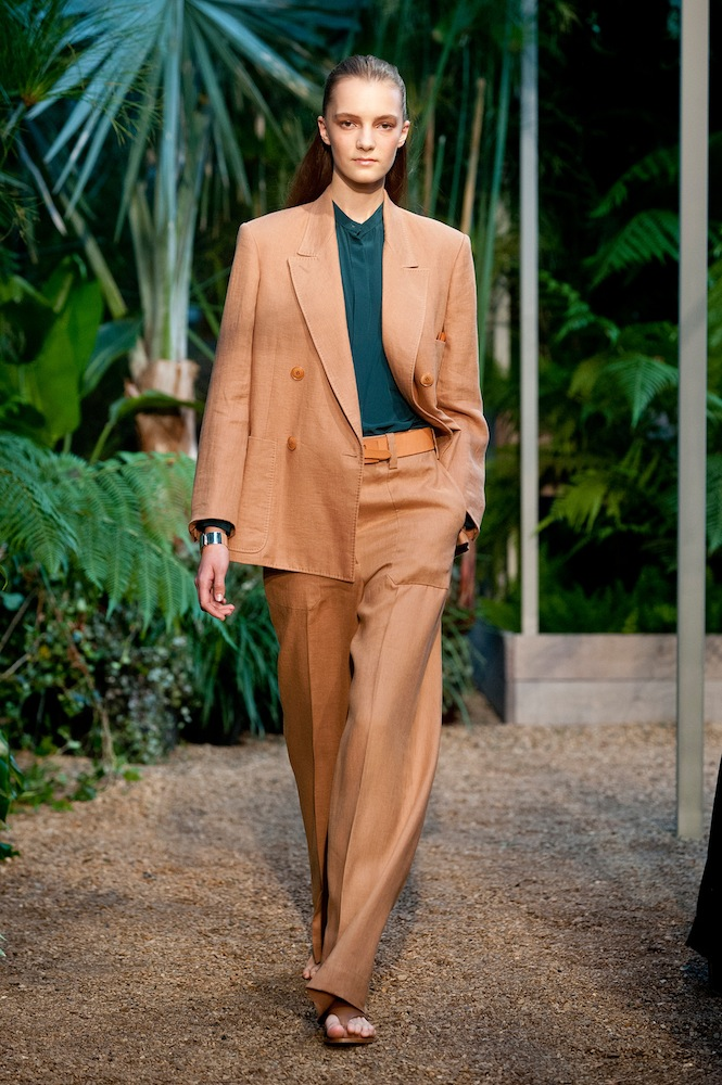 Rectangle Shape: Wide-Leg Trousers at Hermes
