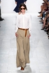 Rectangle Shape: Wide-Leg Trousers at Michael Kors