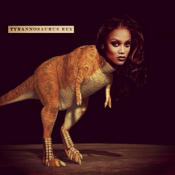 "The ""Dinosaur"" selfie"
