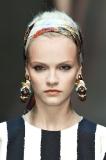 Dolce & Gabbana's Subtle Orange Shimmer