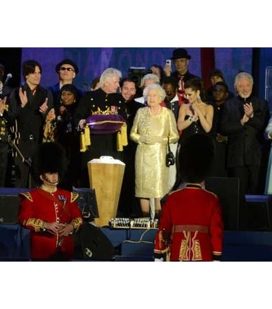 Monday's Jubilee Concert