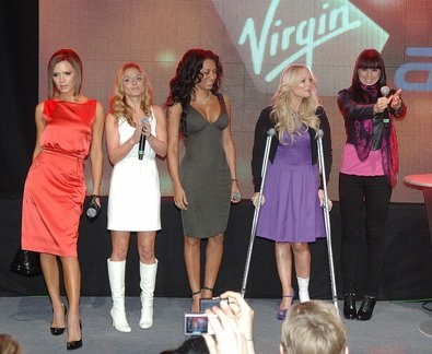 Spice Girls Open a New Terminal at Heathrow in 2007