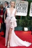 Charlize Theron at the 69th Annual Golden Globe Awards