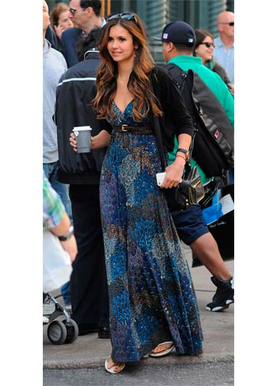 Nina Dobrev's Carefree Maxi 