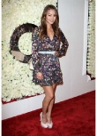 Jamie Chung's Belted Floral Frock