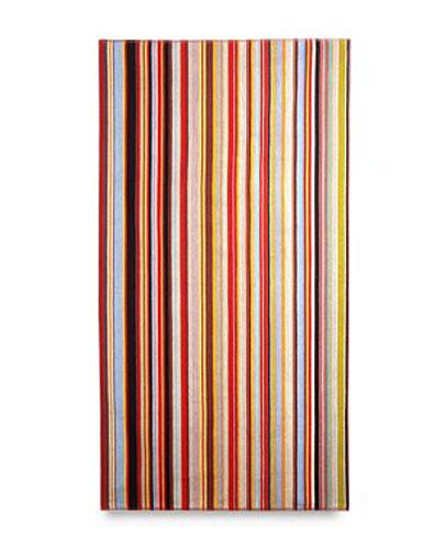 Paul Smith Multi Stripe Beach Towel