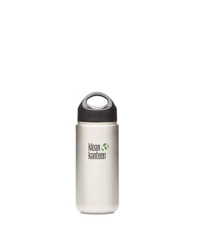 Klean Kanteen Stainless Steel Wide Mouth Water Bottle