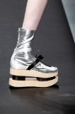 Prada Spring 2013: Silver Sock Platform