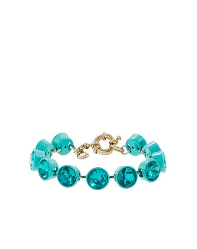J.Crew Small Crystal Brulee Bracelet