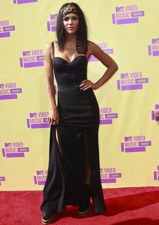 Jessica Szohr at the 2012 MTV Video Music Awards