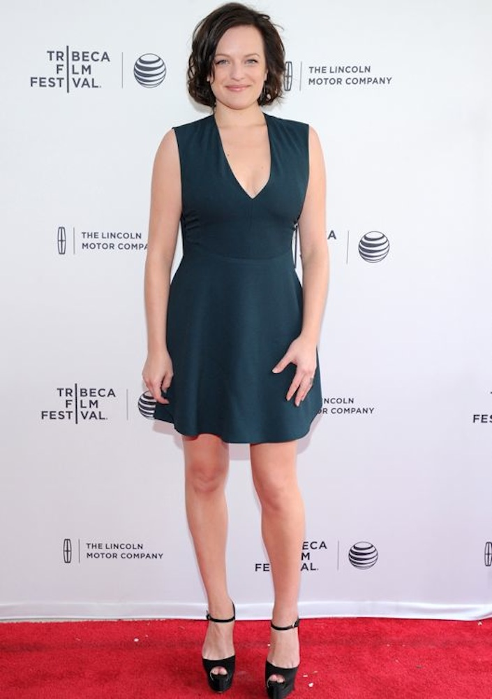 Elisabeth Moss at the Premiere of The One I Love