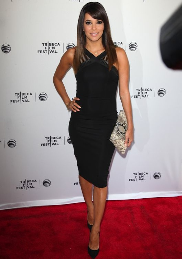 Eva Longoria at the Premiere of Food Chains