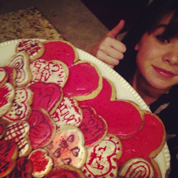 Hailee Steinfeld's Thematic Cookies