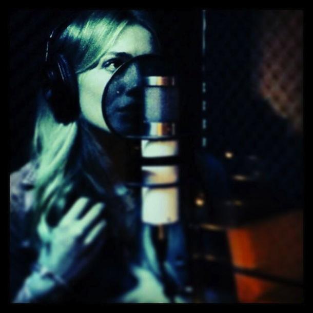 Hilary Duff's Studio Session