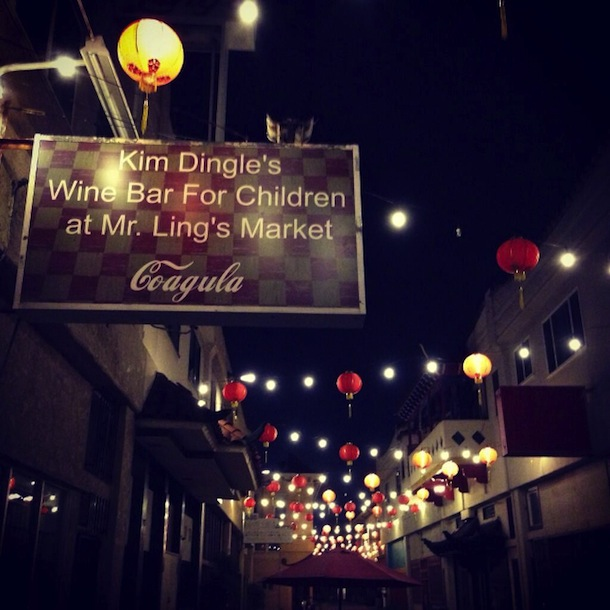 Olivia Wilde's Wine Bar for Children