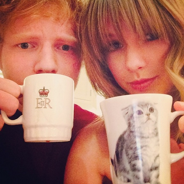 Taylor Swift Takes Tea With Ed