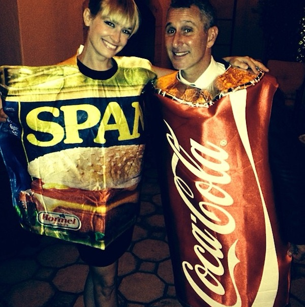 Beth Behrs Wins Food Costumes