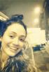 Emmy Rossum's Snow Selfie