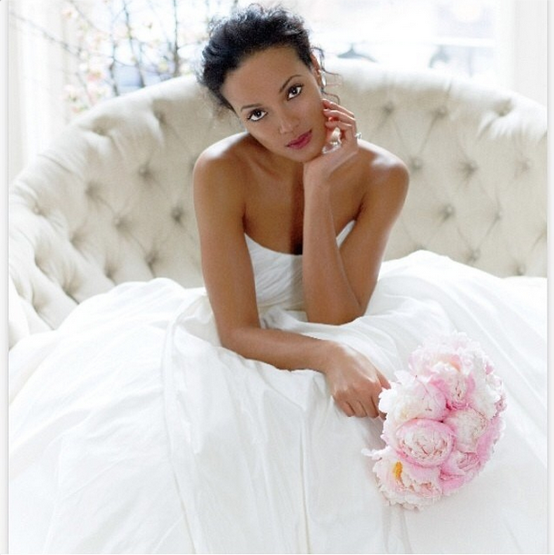 Selita Ebanks Wears White