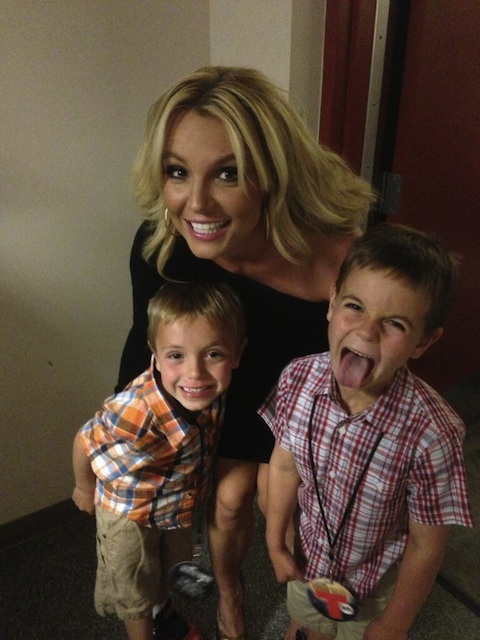 Britney Spears is a Proud Mama