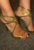 Louise Roe's Gold(?) Choos