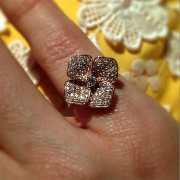 Minka Kelly's Ring